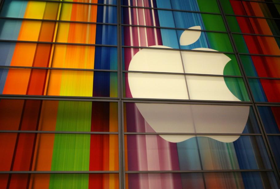 Le groupe informatique américain Apple s'est vu octroyer... (PHOTO ARCHIVES AFP)