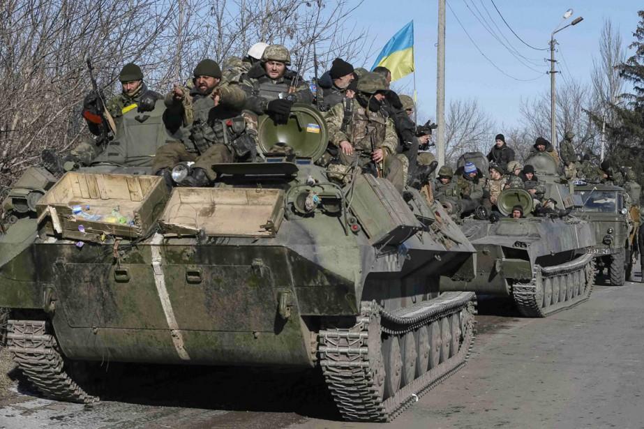L'Occident a fermement dénoncé la prise de Debaltseve,... (PHOTO GLEB GARANICH, REUTERS)