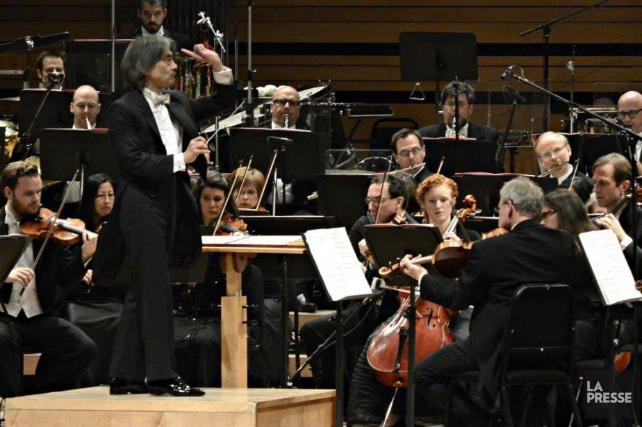 L'OSM et son chefd'orchestre, Kent Nagano.... (PHOTO BERNARD BRAULT, ARCHIVES LA PRESSE)