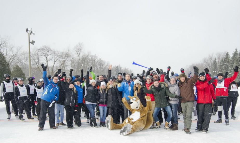 Le 9e Triathlon d'hiver de la Fondation CHU...