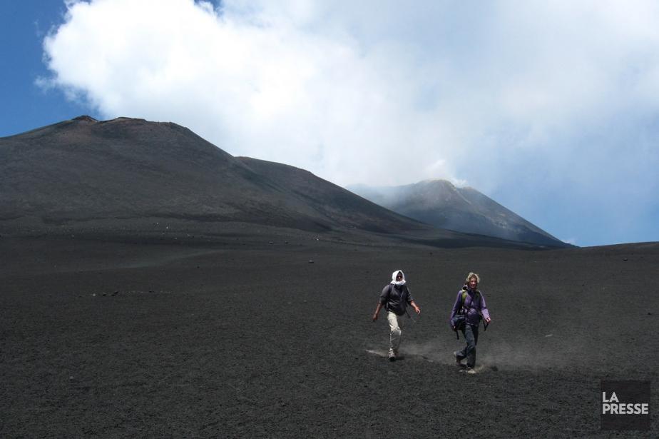 L'Etna, le géant de la Sicile, est un... (PHOTO MARIE TISON, LA PRESSE)