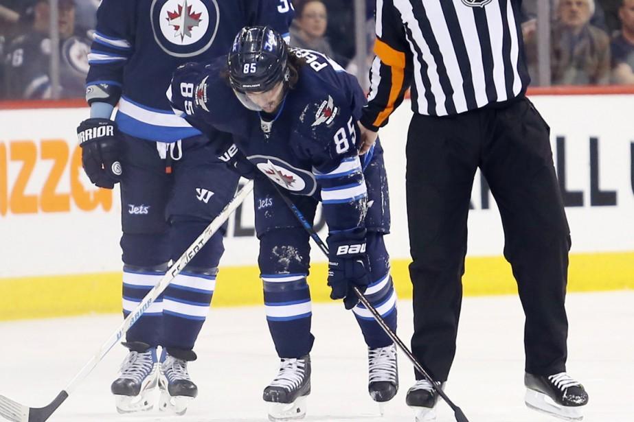 Mathieu Perreault a subiune «importante blessure au bas... (Photo Bruce Fedyck, USA Today Sports)