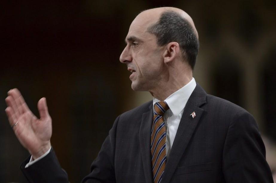 Steven Blaney, ministre de la Sécurité publique, a... (PHOTO ARCHIVES LA PRESSE CANADIENNE)