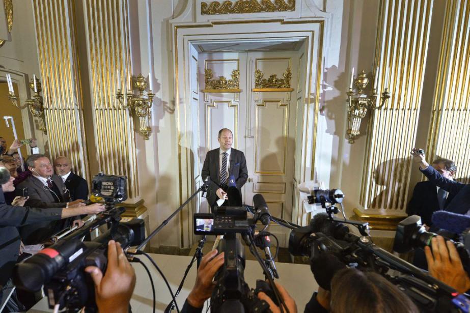 Peter Englund, secrétaire permanent de l'Académie suédoise, aindiqué... (PHOTO ARCHIVES ASSOCIATED PRESS)