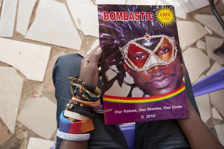 Bombastic, la première revue gaie d'Ouganda, a été... (PHOTO ISAAC KASAMANI, AFP)