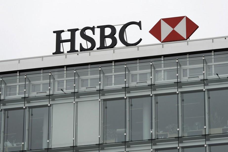 HSBC est au coeur d'un vaste scandale financier.... (Photo archives AP)
