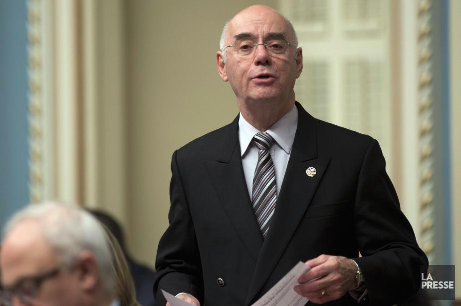 Le ministre de l'Économie du Québec, Jacques Daoust... (Photo Jacques Boissinot, La Presse Canadienne)