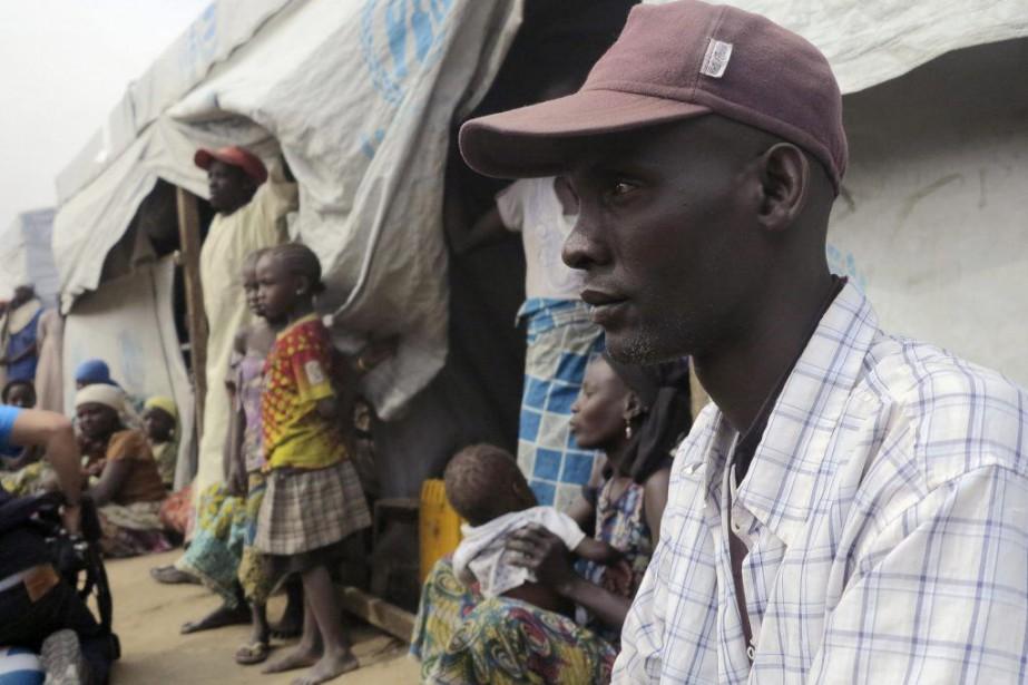 Emmanuel Ali Talka, 36 ans, a trouvé refuge... (PHOTO BATE FELIX TABI TABE, REUTERS)