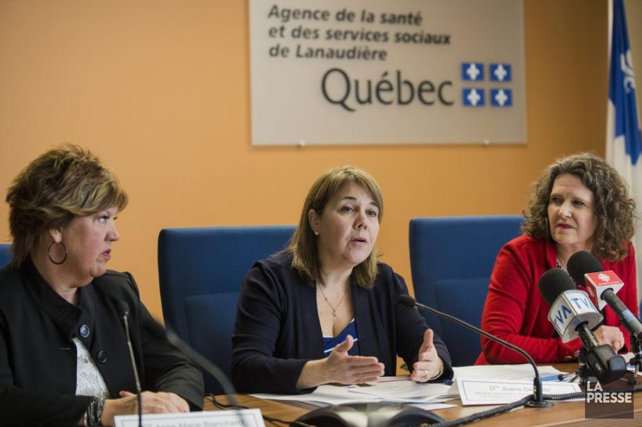 Anne-Marie Blanchard, Dre Joane Désilet et Dre Muriel... (PHOTO EDOUARD PLANTE-FRECHETTE, ARCHIVES LA PRESSE)