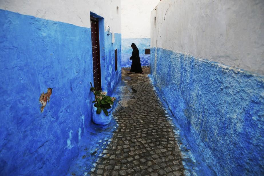 Les pittoresques ruelles de la vieille ville, l'un des charmes de Rabat. (Photo Mylène de Repentigny-Corbeil, Collaboration spéciale)