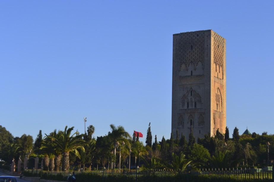La tour Hassan est le symbole le plus connu de la ville de Rabat. (Photo Mylène de Repentigny-Corbeil, Collaboration spéciale)
