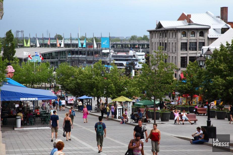 La place Jacques-Cartier, dans le Vieux-Montréal.... (Photo David Boily, Archives La Presse)