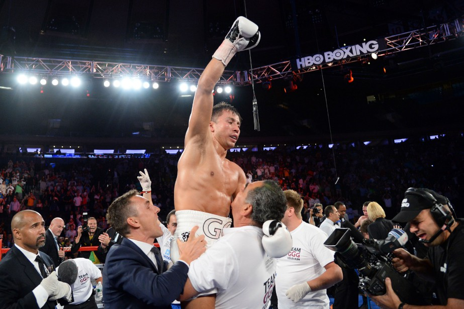 Gennady Golovkin... (PHOTO ARCHIVES USA TODAY)