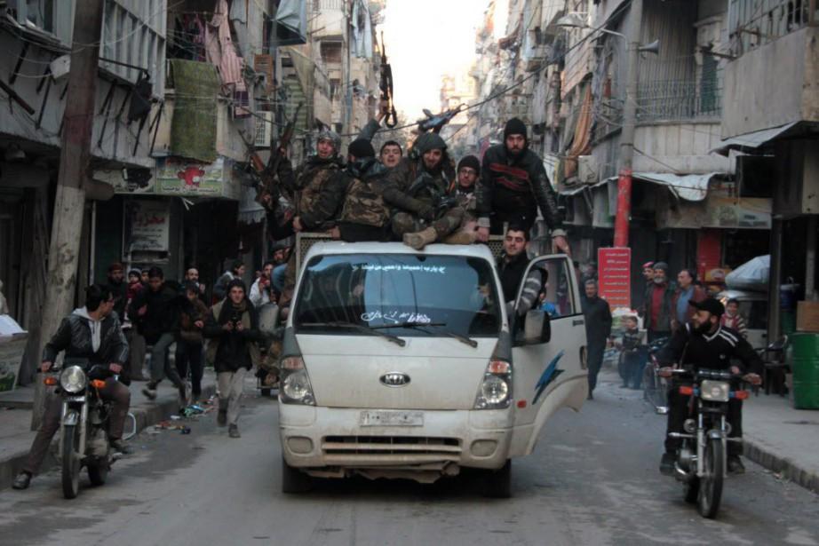 La guerre a fait plus de 210 000... (PHOTO ZAKARIYA AL-KAFI, AFP)