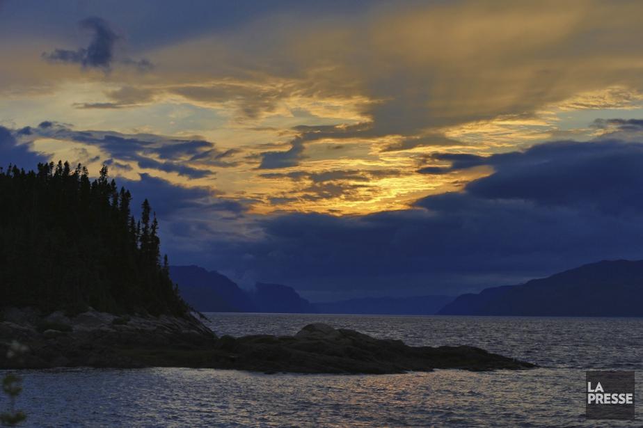 Petit-Saguenay, dans le Fjord du Saguenay.... (PHOTO HUGO-SéBASTIEN AUBERT, LA PRESSE)