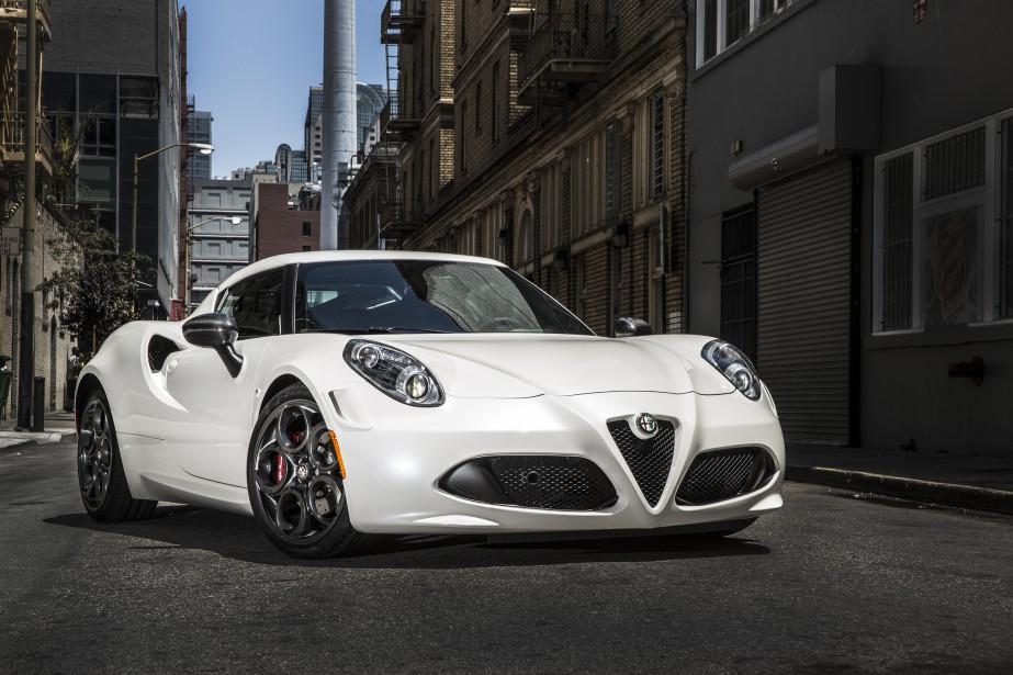 <strong>Alfa Romeo 4C</strong> —<strong></strong>À partir de 61 995 $ (Photo fournie par Alfa Romeo)