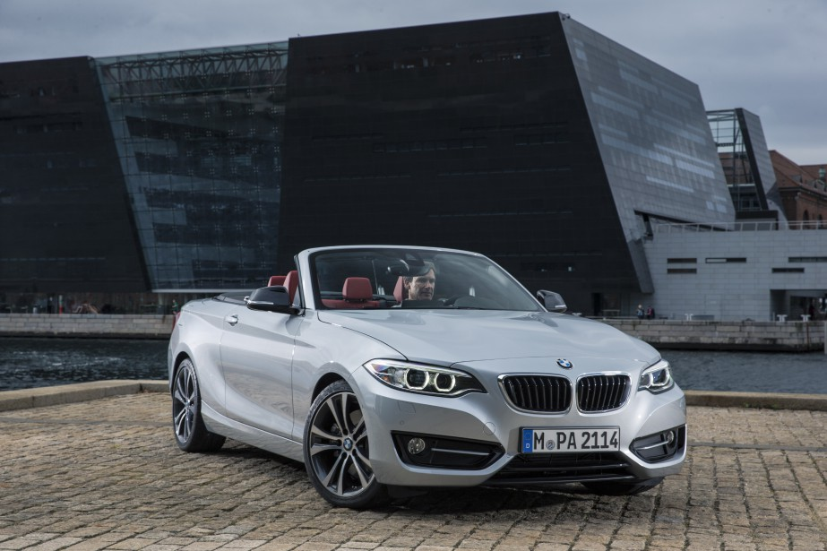 <strong>BMW M235i cabriolet 2015 </strong>— à partir de 51 900 $ (Photo fournie par BMW)
