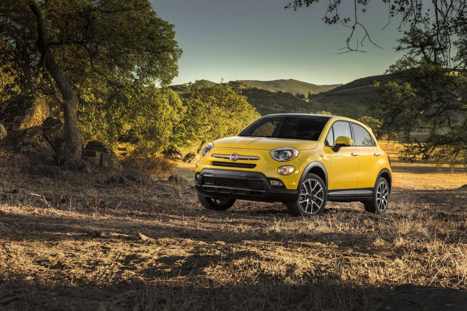 <strong>Fiat 500X 2016 </strong>- À partir de 21 495 $ (Photo fournie par Fiat)