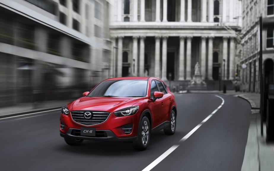 <strong>Mazda CX-5 2016 </strong>—Prix non dévoilé (Photo fournie par Mazda)
