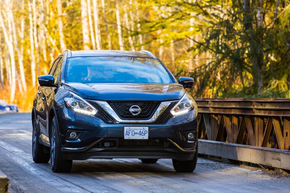 <strong>Nissan Murano 2015</strong>— À partir de 29 998 $ (Photo fournie par Nissan)