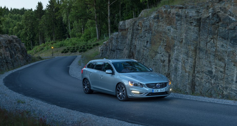 <strong>Volvo V60 2015 — </strong>À partir de 40 200 $ (Photo fournie par Volvo)
