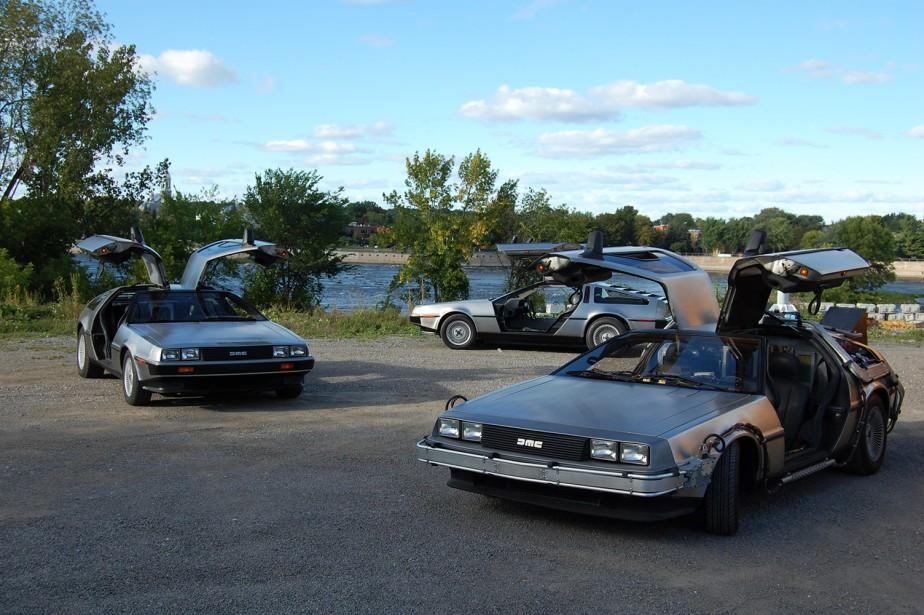 <strong>Les voitures de films et de séries télévisées </strong>- Une réplique de la DeLorean de <em>Retour vers le futur</em>sera présentée dans la zone Cinéma. (Photo fournie par Thierry Lacombe)