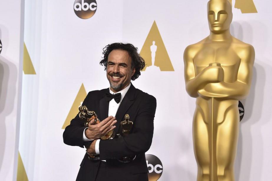 Alejandro Gonzalez Iñarritua remporté les statuettes du meilleur... (Photo Jordan Strauss, Invision/AP)