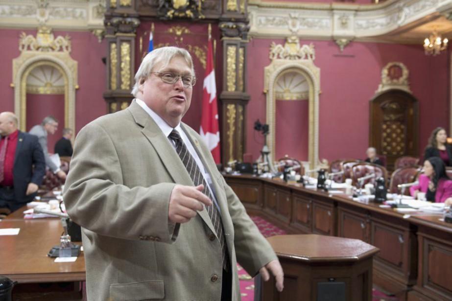 Le ministre Gaétan Barrette, convaincu que son projet... (PHOTO JACQUES BOISSINOT, LA PRESSE CANADIENNE)