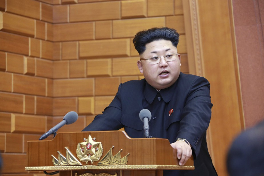 Le leader nord-coréen, Kim Jung-Un... (PHOTO REUTERS/KCNA)