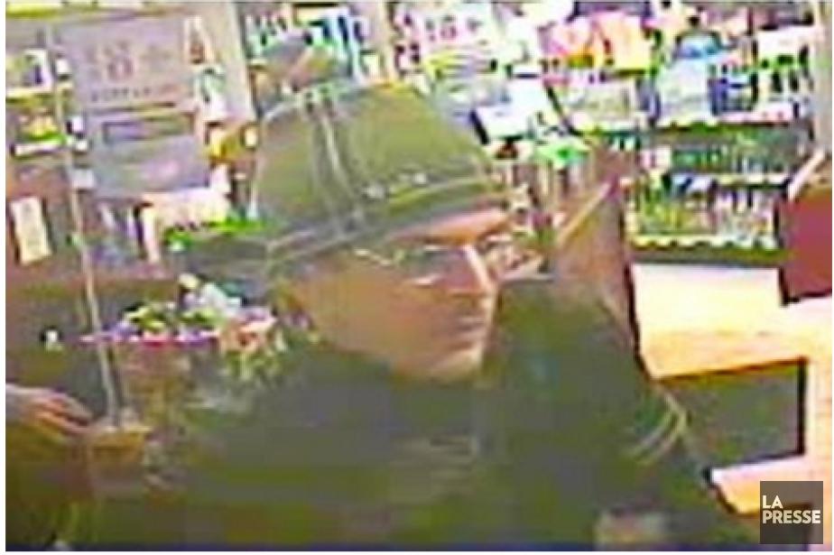 Le suspect recherché.... (Photo La Presse)