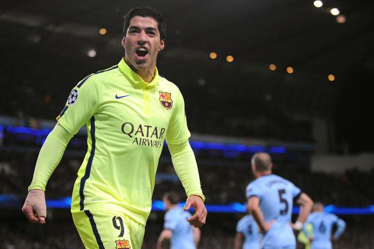 Luis Suarez... (Photo: AP)