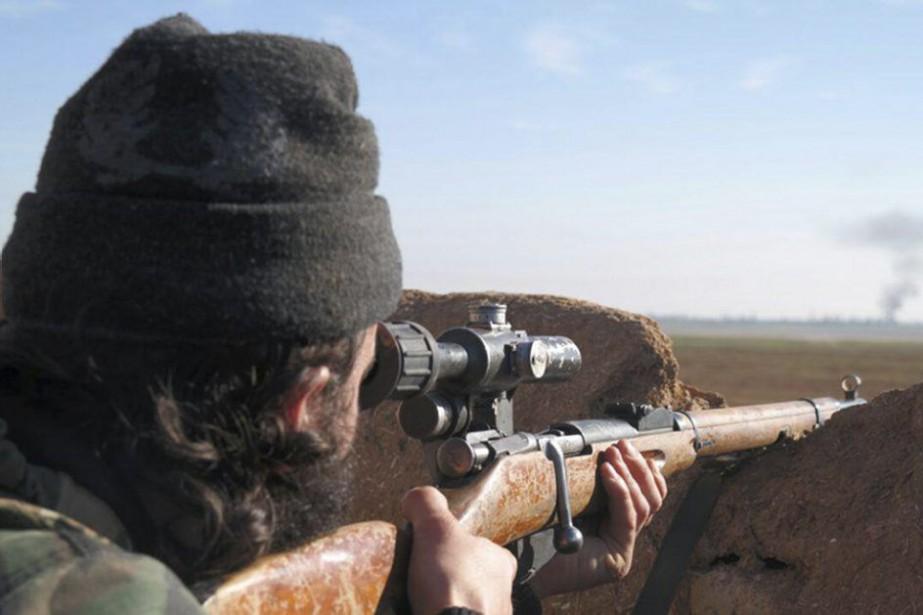 Depuis lundi, les djihadistes ont pris en otage... (PHOTO ASSOCIATED PRESS)