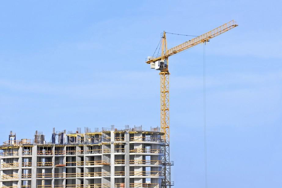 Si les projets de construction ne pleuvent pas encore au... (PHOTO THINKSTOCK)