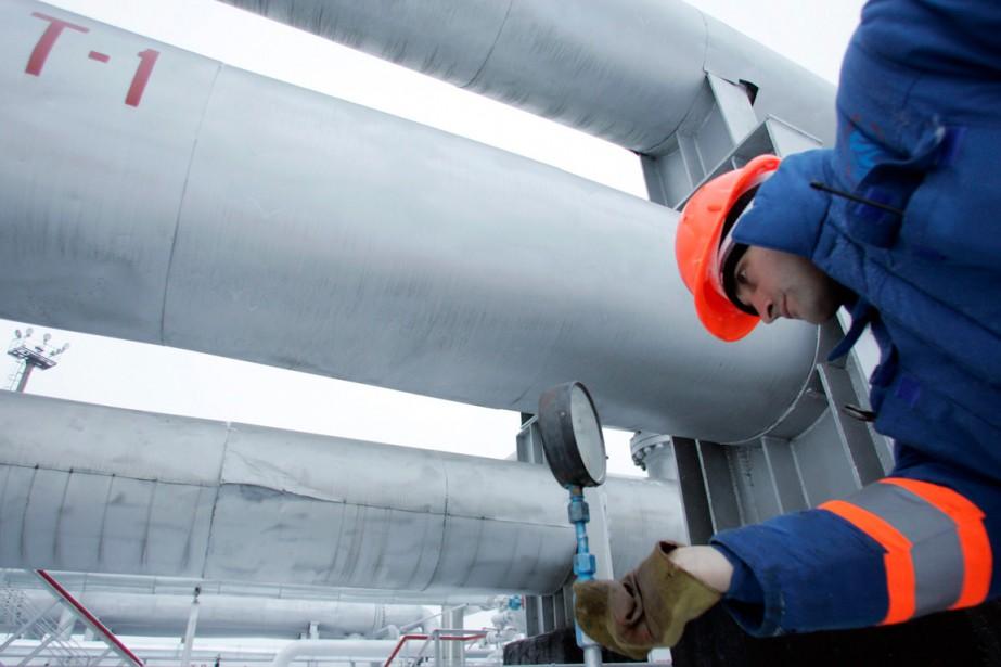 Moscou estime que ces livraisons de gaz entrent... (PHOTO REUTERS)