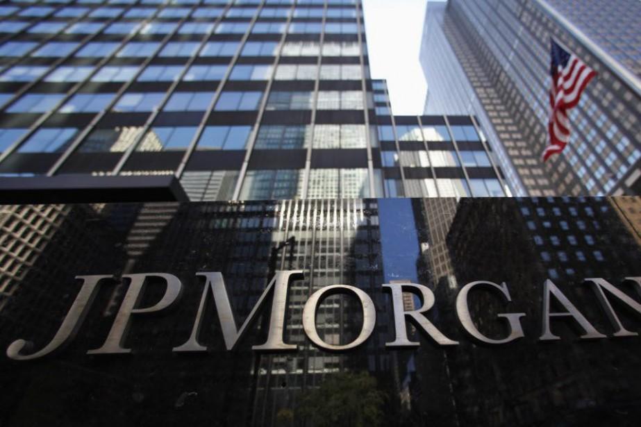 À Wall Street, le titre de JPMorgan Chase... (Photo Mike Segar, Reuters)