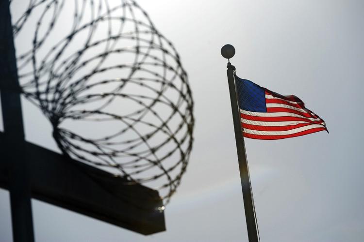 Un détenu égyptien de Guantanamo, obèse et malade, a été décrété... (Photo: AFP)
