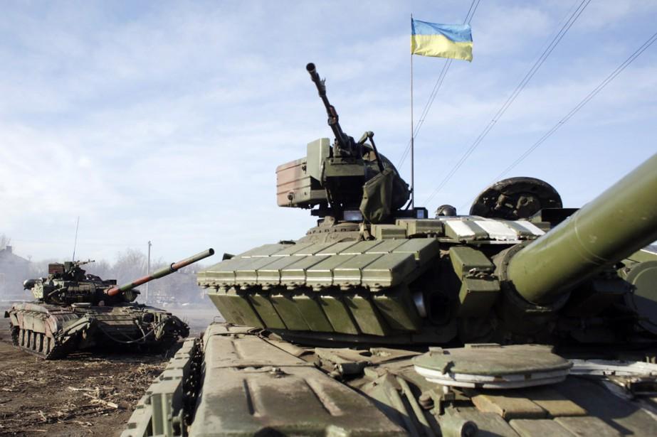 L'armée ukrainienne prévient cependant qu'elle est prête à... (PHOTO ANATOLII STEPANOV, ARCHIVES AFP)