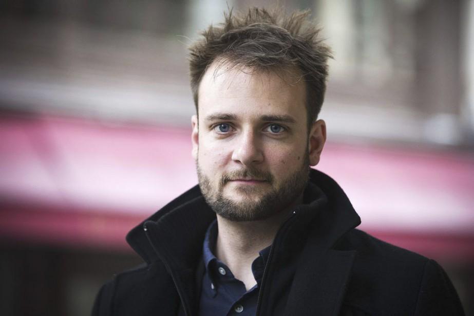Evan Sharp, cofondateur de Pinterest.... (PHOTO JOEL SAGET, AFP)