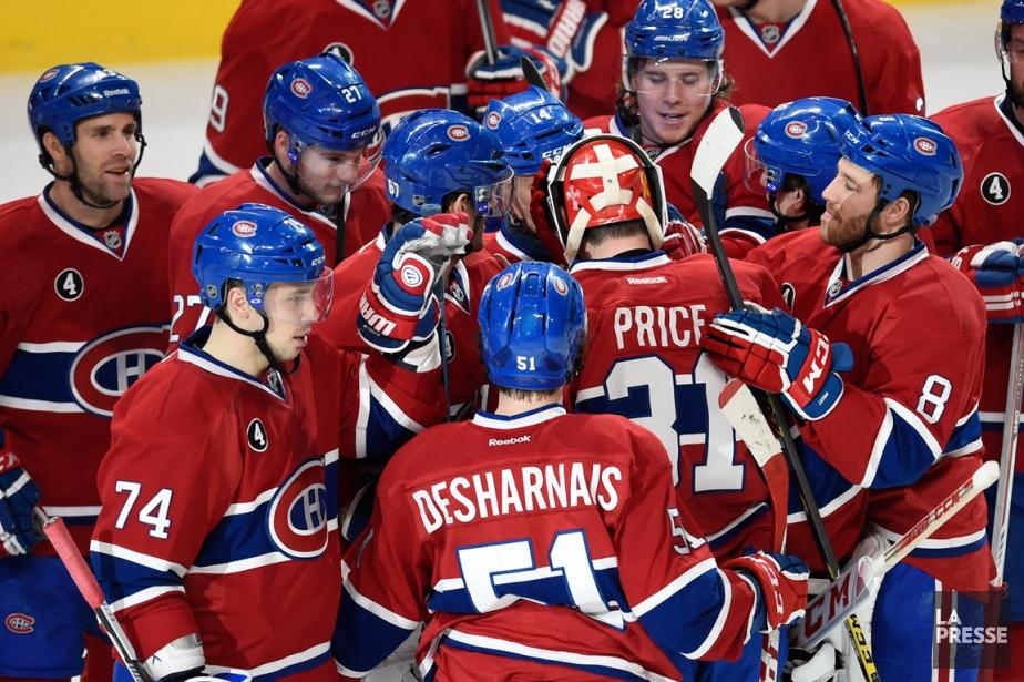Après la victoire du Canadien mardi à St.... (Photo Bernard Brault, La Presse)