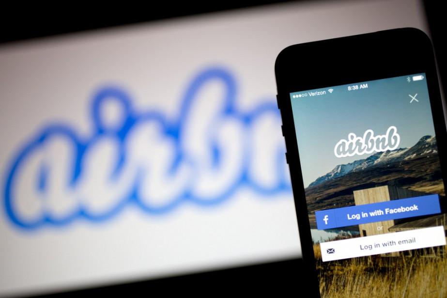 Airbnb revendique plus de 17 millions d'utilisateurs et... (Photo Andrew Harrer, Bloomberg)