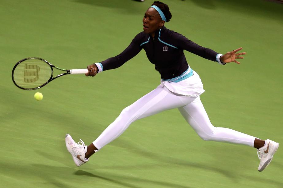 Venus Williams... (Photo Fadi Al-Assaad, Reuters)