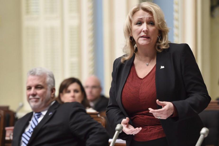 Questionnée sur l'ampleur du problème au Québec, la... (PHOTO JACQUES BOISSINOT, LA PRESSE CANADIENNE)