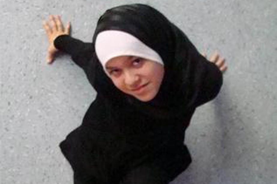 Shayma Senouci, 18 ans, est une des deux... (PHOTO TIRÉE DE TWITTER)