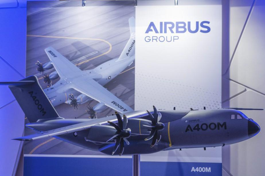 Le président exécutif d'Airbus Groupa souligné que son... (PHOTO GUENTER SCHIFFMANN, AFP)