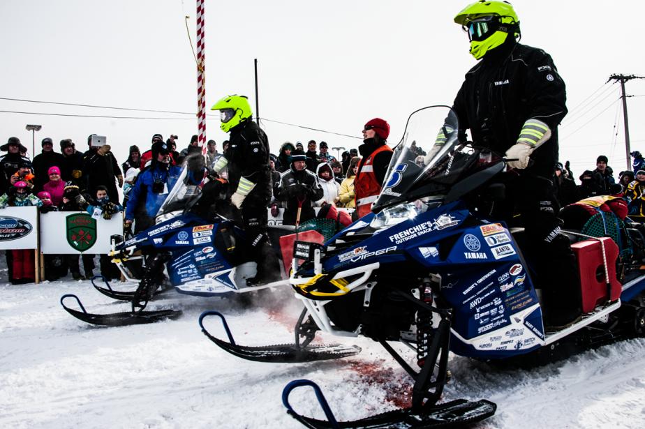 Au départ de l'édition 2014 de l'Aventure de Caïn, à Labrador City. (Photo fournie par L'Aventure de Caïn)