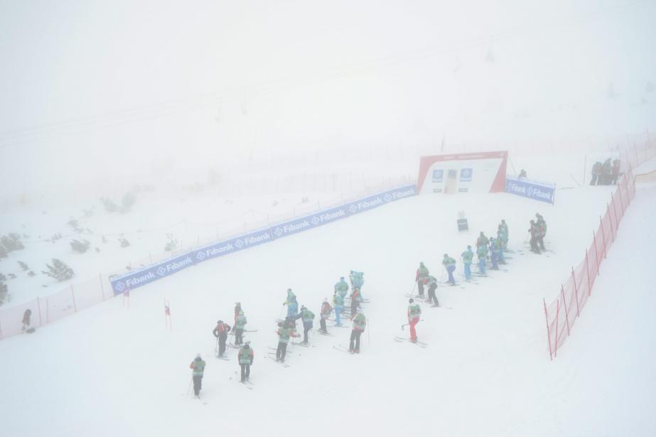 Le super-G de Bansko comptant pour la Coupe du... (Photo Pier Marco Tacca, AP)