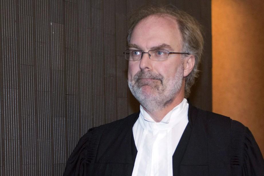 Le procureur de la Couronne, Louis Bouthillier... (Photo archives La Presse Canadienne)
