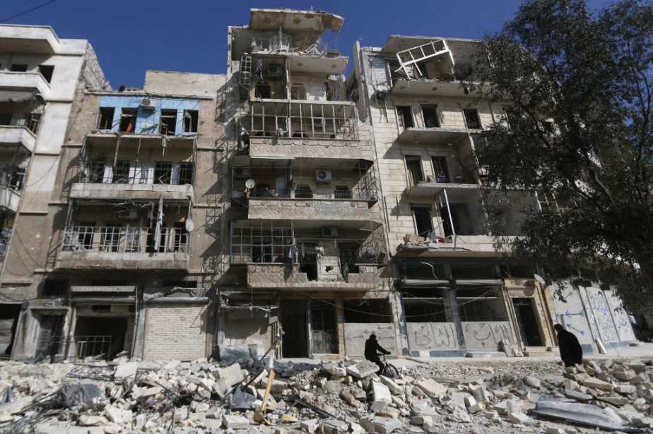 Plus de 220 000 personnes ont été tuées... (PHOTO HOSAM KATAN, REUTERS)