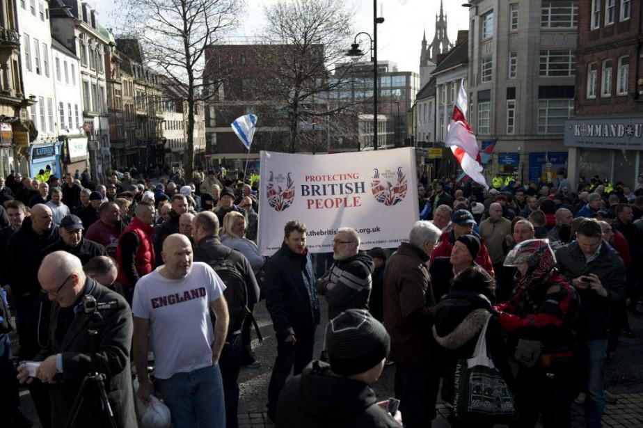 La police du Northumbria avait annoncé un dispositif... (PHOTO OLI SCARFF, AFP)