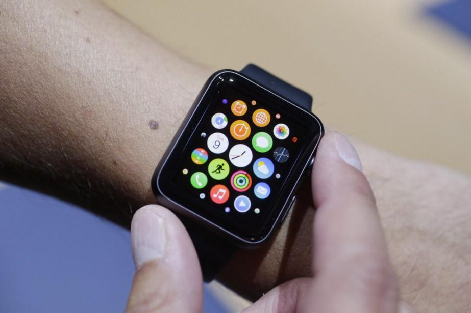 L'Apple Watch est attendue pour cette année.... (Photo Marcio Jose Sanchez, AP)